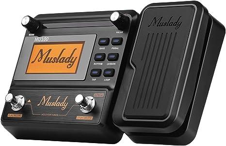 Muslady Pedal de Efectos Multiefectos de Guitarra: Amazon.es ...
