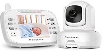 Amcrest AC-2 Video Baby Monitor with Camera, Two-Way Audio