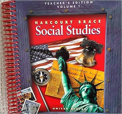 Harcourt brace social studies grade 5 vol 1 united states teachers harcourt brace social studies grade 5 vol 1 united states teachers edition 1st edition fandeluxe Image collections
