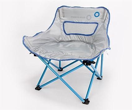 LUCKY-U Silla De Camping, Silla Plegable Al Aire Libre ...