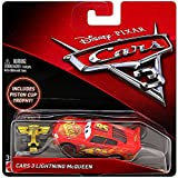 Disney/Pixar Cars 3 Lightning McQueen Die-Cast Vehicle (Includes Piston Cup Trophy)
