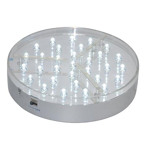 Amazon Kitosun 6inch Under Vase Led Light Base 31pcs Led Lights