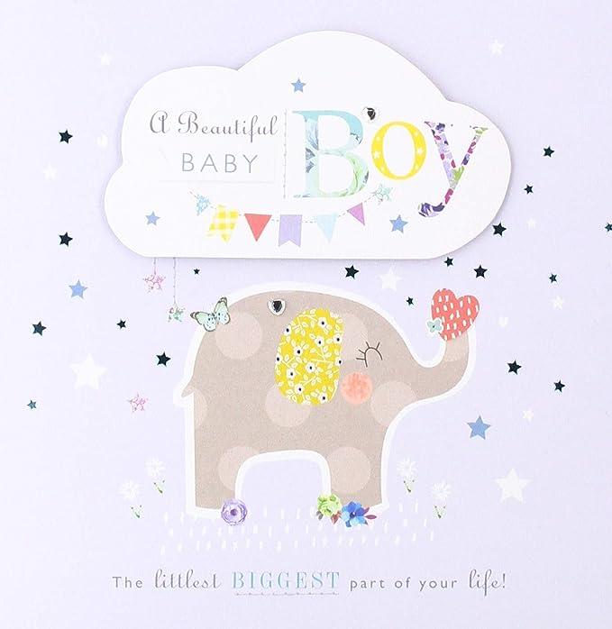 Hallmark - Tarjeta de felicitación para recién nacido (tamaño ...