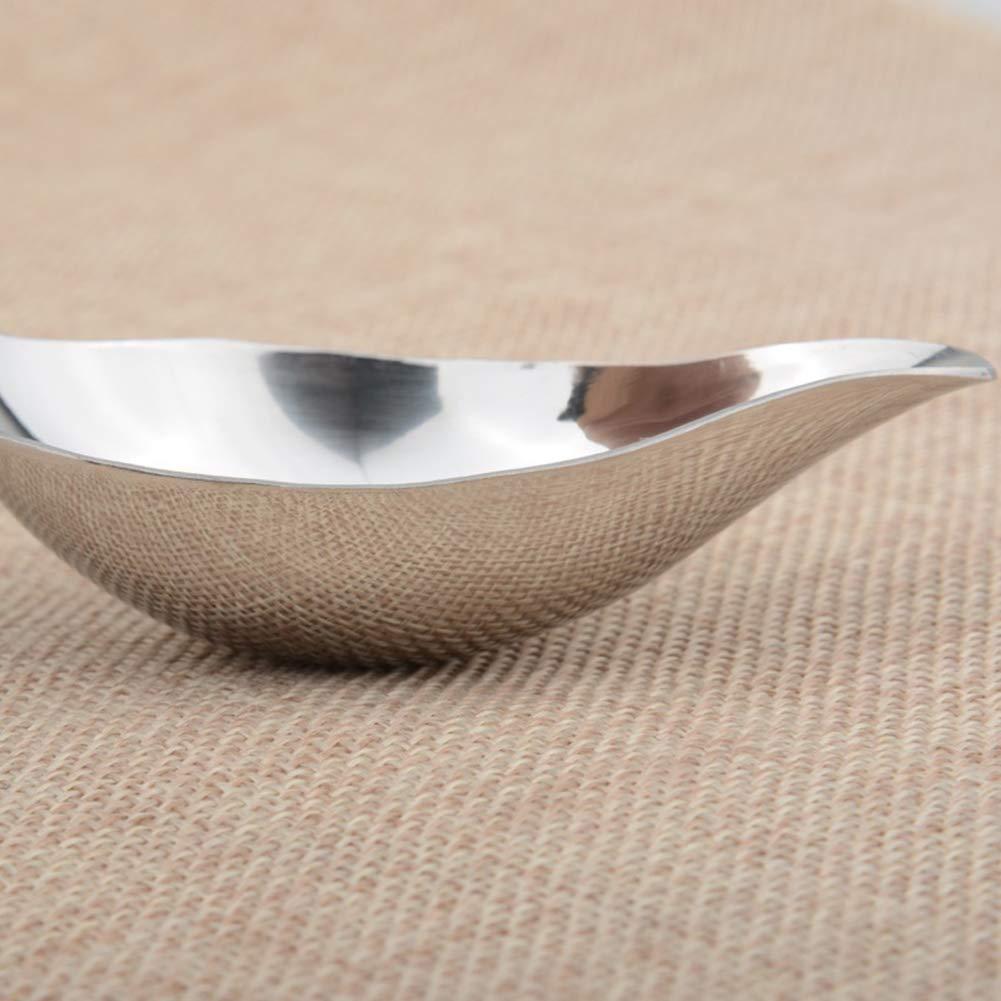 Gracorgzjs Stainless Steel Spoon Seasoning Condiment Cooked Soup Oil Sauce Vinegar Kitchen Stirring Gadget