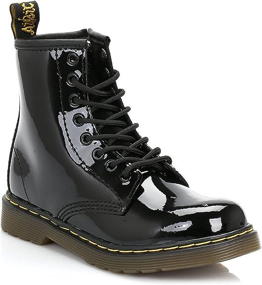 Dr Martens Delaney Lace Boot Patent