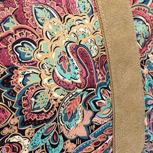 Chang Spent La bolsa de mensajero nuevo bolso bandolera de lona de las mujeres (color opcional) , a a