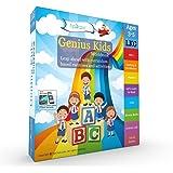 Genius Kids Worksheets for Lkg - Set of 8 Workbooks for LKG, KG-1 and Montessori (3-5 yrs) - Math & Logic, English, Science, Games & Activities