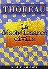 La désobéissance civile par Thoreau