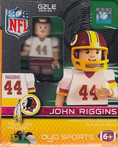 John Riggins Nfl (John Riggins NFL OYO Washington Redskins Generation 2 Series 1 G2 Mini Figure)