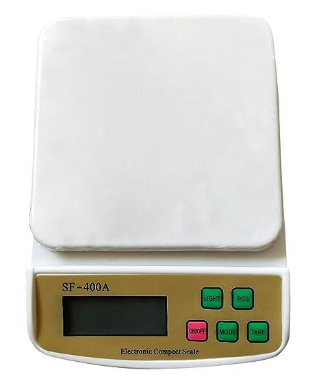 AUBIG Báscula Digital de Cocina Balanza Electrónica de Alta Precisión Multifuncional Pantalla LCD Retroiluminación No Incluye