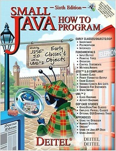 Deitel & Deitel Java How to Program Early Objects 11th Edition