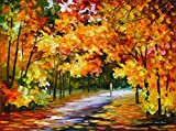 The Path Of Sun Beams is a Limited Edition print from the Edition of 400. The artwork is a hand-embellished, signed and numbered Giclee on Unstretched Canvas by Leonid Afremov. Embellishment on each of these pieces will be slightly different, but the...