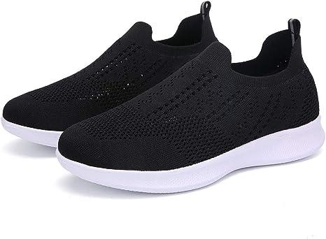 Luckycat Mujer Zapatos Deportivas Running Trekking Sneakers Cordones Zapatillas de Deportivo para Mujer Primavera y Verano 2019 Moda Tefamore Cómodos Zapatos con Malla Cordones Señora Casual Calzado: Amazon.es: Relojes