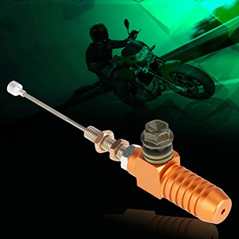 Amazon.com: Qiilu M10x1.25mm Universal Motorcycle Hydraulic Clutch Master Cylinder Rod Brake Pump For dirt bike Pit Bike ATV Quad scooter motorcycle(橙色): ...