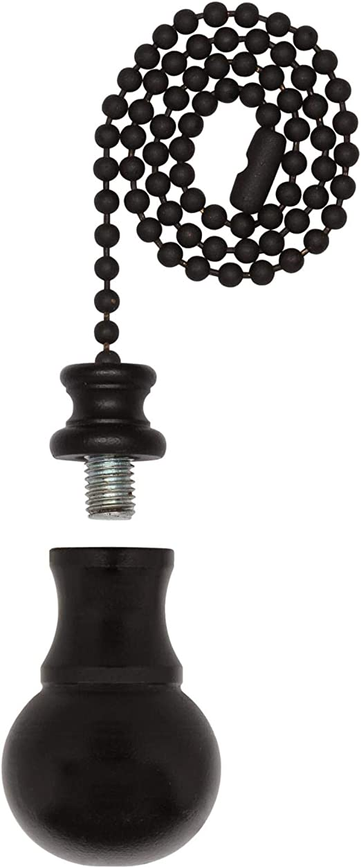 Westinghouse 7709600 Oil Rubbed Bronze Beaded Pull Chain