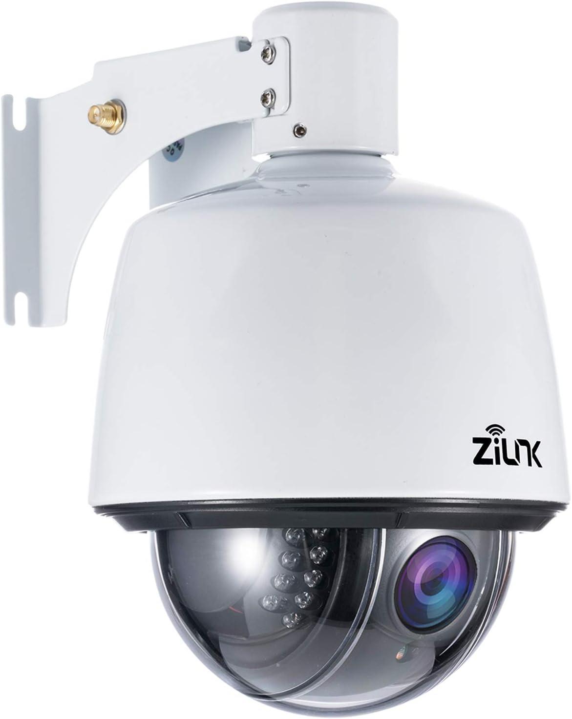 ZILNK PTZ IP Dome Kamera Outdoor, Überwachungskamera