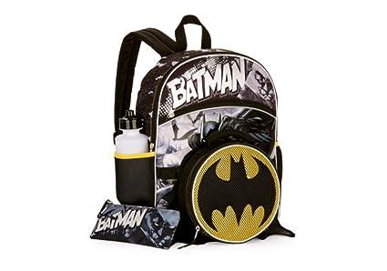 9027756e654a Amazon.com: Batman 5 Piece Backpack Set: Toys & Games