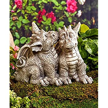 Superior Dragon Couple Garden Statue