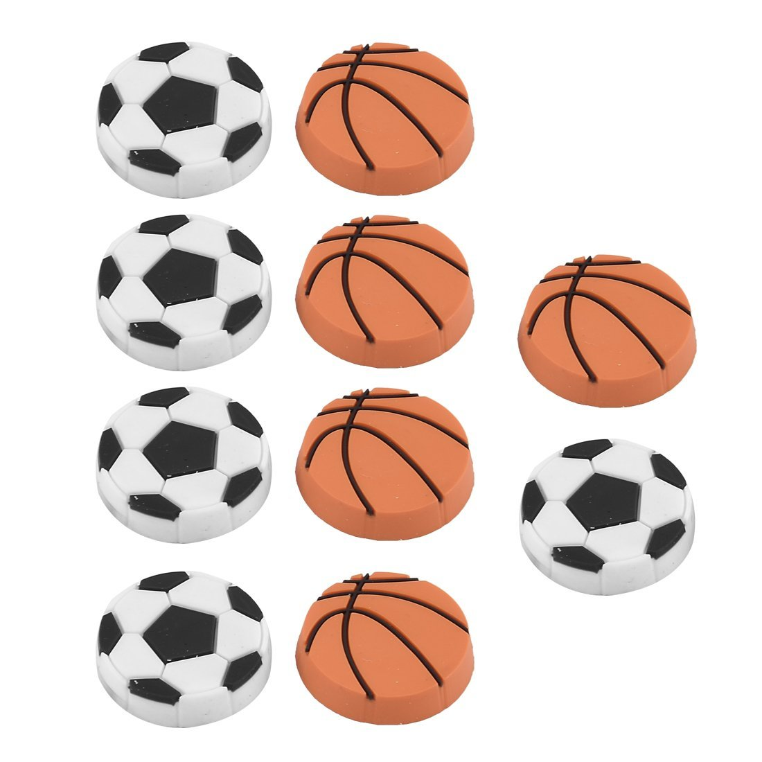 sourcingmap® Nevera pizarra blanca de plástico Baloncesto diseño ...