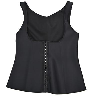 49f4bece1b Wonder Pretty Womens Latex Waist Trainer Underbust Corset Workout Shaper  Cincher Vest at Amazon Women s Clothing store