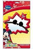 6x Orejas * Mickey Mouse * para fiestas de cumpleaños infantil y temática//Fiesta Cumpleaños Mickey Mouse niños sombrero sombreros de fiesta
