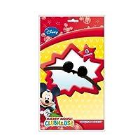 6X orecchie * Mickey Mouse * e a tema festa di compleanno per bambini/Bambini Compleanno Topolino Party Cappello Cappellino da party