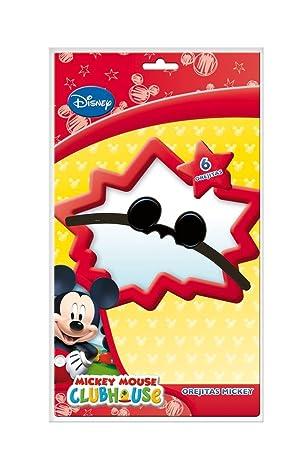 6 x Orejas   Mickey Mouse   para fiestas de cumpleaños infantil y temática   baeb6dcc328