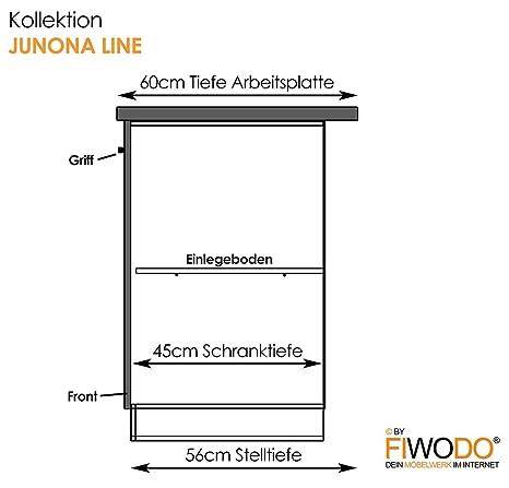 Küche 240cm von FIWODO® - ERWEITERBAR - günstig + schnell ...