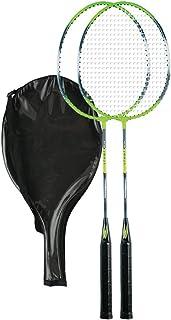 Set da Badminton, 2 racchette + Cover RS104 Redox