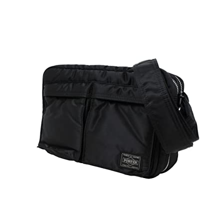 Amazon.com  Porter Tanker   Shoulder Bag 06963 Black   Yoshida Bag  Office  Products 57a25653b4613