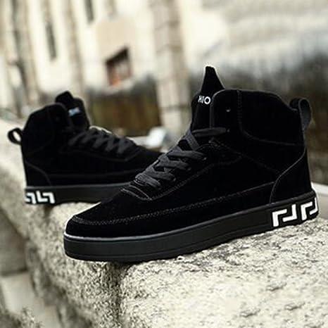Le calzature sportive FEIFEI Scarpe da uomo Inverno Tempo libero Moda  Tendenze Alta Aiuto Piastra scarpe d9ec5330d1c