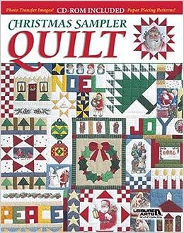 Christmas Sampler Quilt (Book & CD-ROM): Leisure Arts ... : quilt book - Adamdwight.com