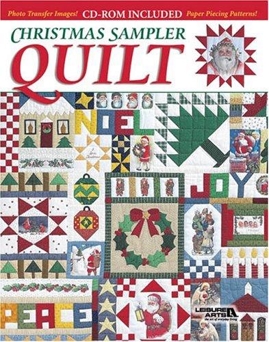 Christmas Sampler Quilt Book Cd Rom Leisure Arts 9781574864427 Amazon Com Books