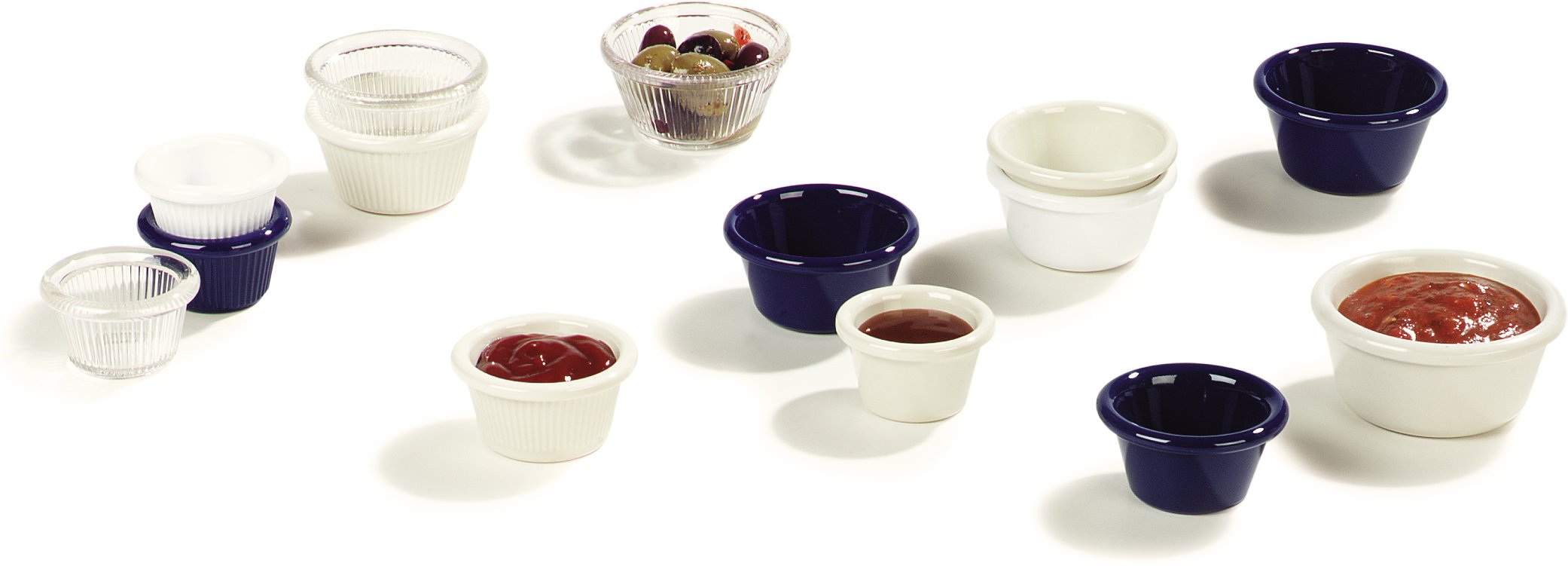 Carlisle 4312603 SAN Smooth Ramekin, 6 oz Capacity, 1.80'' Height, Black (Case of 48) by Carlisle (Image #8)