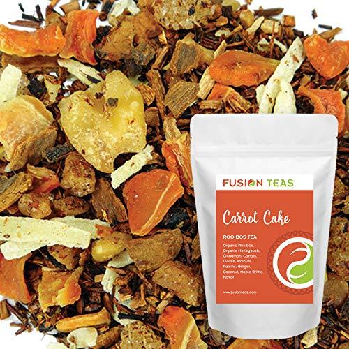 Carrot Cake Rooibos - Loose Leaf Herbal Tea - Fusion Teas 5oz ()