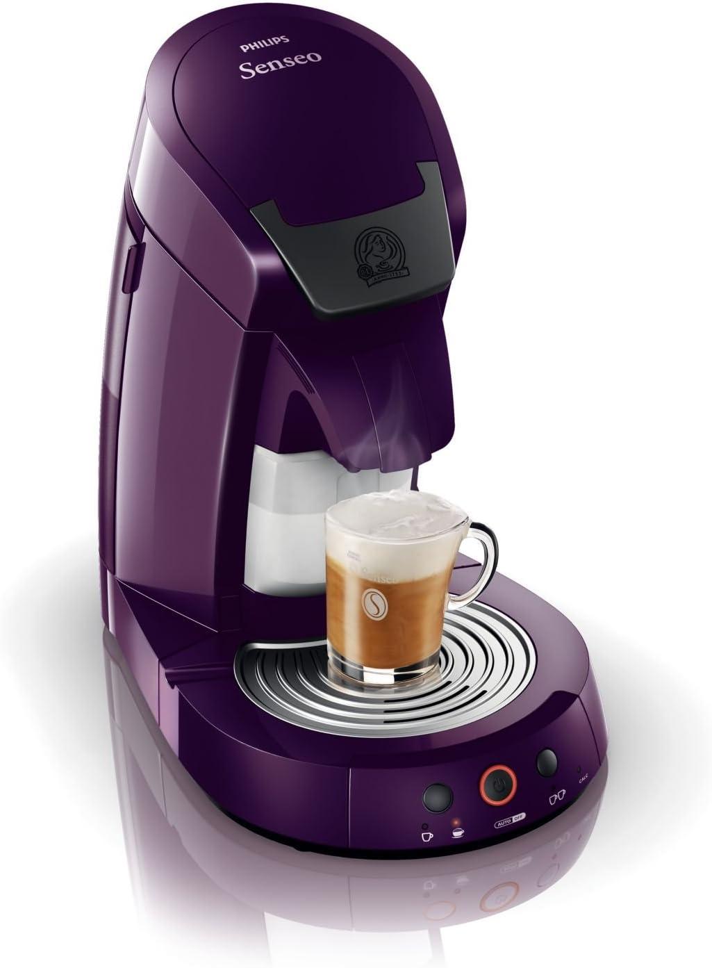 Philips HD7853/70 Senseo Cappuccino - Cafetera de monodosis, color ...