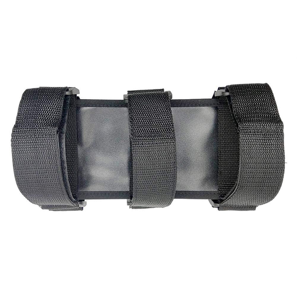 Kathariiy Supporto estintore in Nylon Regolabile con Roll Bar Compatibile per Jeep Wrangler TJ YJ JK CJ Adaptable