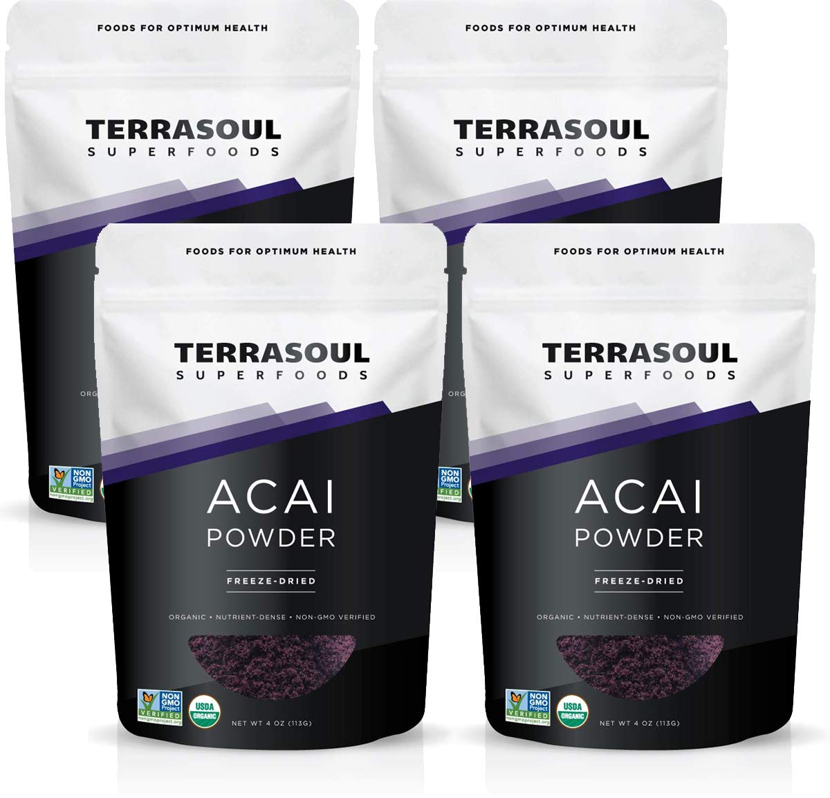Terrasoul Superfoods Organic Acai Berry Powder, 1 Lb - Freeze-Dried | Antioxidants | Omega Fats by Terrasoul Superfoods (Image #1)