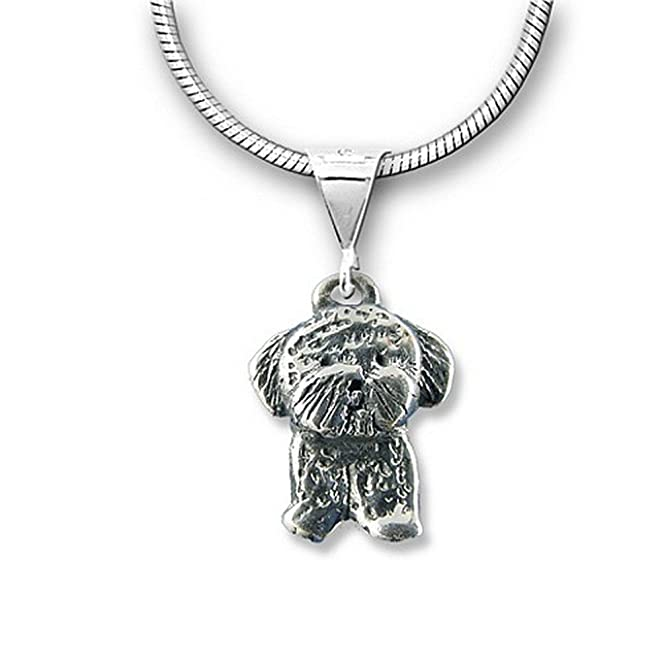 Sterling Silver Bichon Frise Jewelry