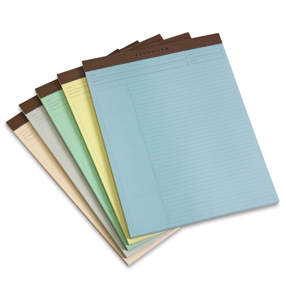Levenger Freeleaf Shade Annotation Rled Pads-Ltr-5 Legal Ruled Writing Pad (ADS10080)