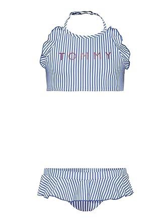a5d5b3429e22a Tommy Hilfiger Maillot de bain deux pièces - Femme Bleu bleu - Bleu - 14-
