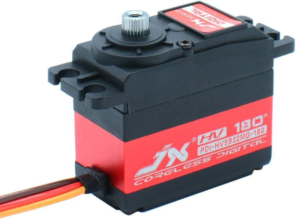 JX Servo PDI-HV5932MG 32KG Hochdrehmoment Metallzahn Digital Servo f/ür Drone RC Auto RC Boot Robort