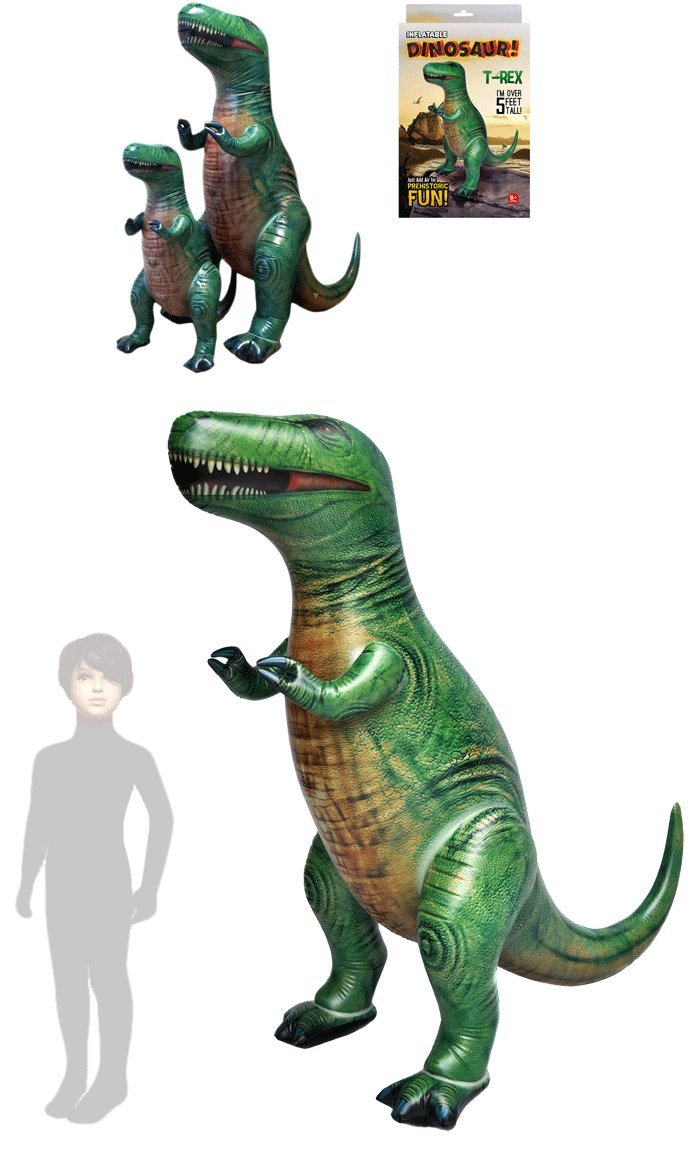 Dinosaurio hinchable T-Rex gigante. De Pvc Altura color alto ...