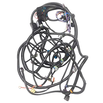 amazon com: 2008-2015 ls3 (6 2l) psi standalone wiring harness w/4l60e 58x  drive by wire dbw: automotive