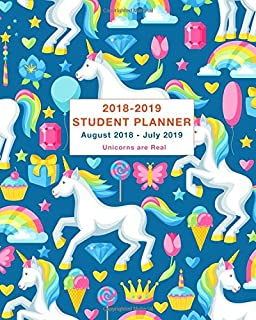 Make Your Own Magic Unicorn 2018 2019 Academic School Planner