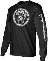 LongSleeve T-Shirt Molon w Sleeve Print Black