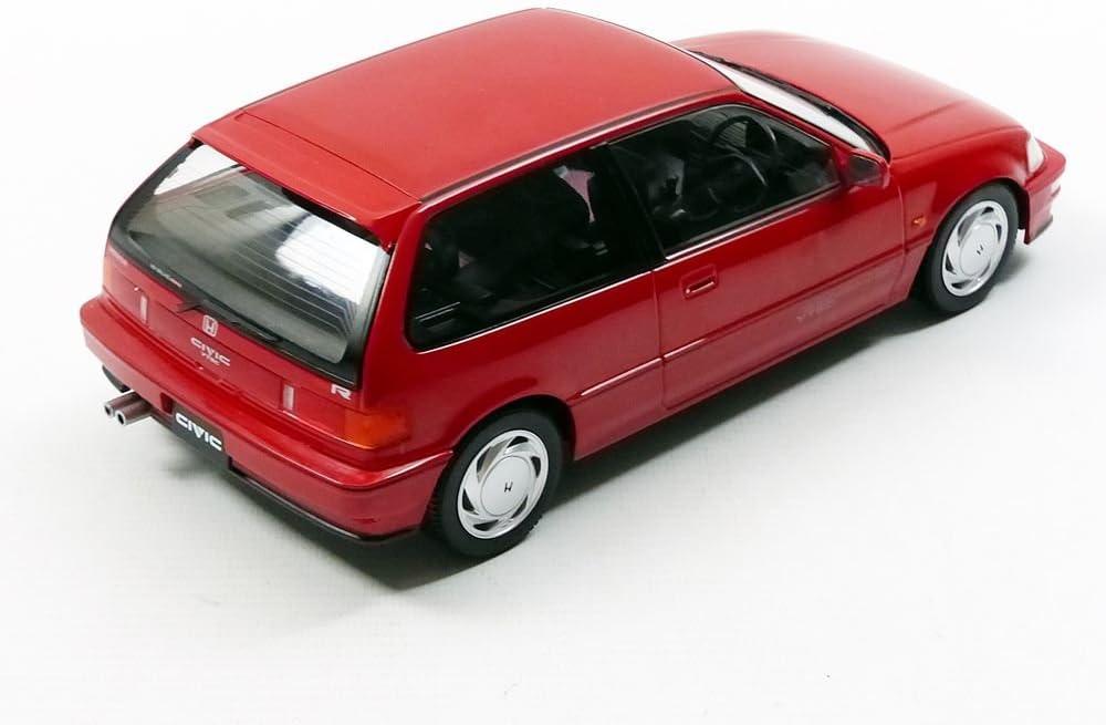 Honda Civic ef9 Sir VTEC 1990 rojo 1:18 triple 9 DIECAST 1800105