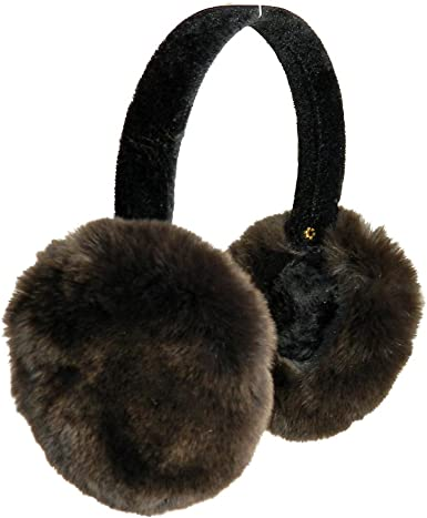 Real Rex rabbit fur children/'s fur earmuffs can be used as a scarf to keep warm