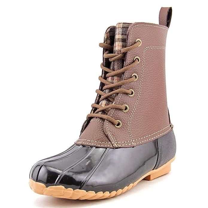 Amazon.com | Sporto Women's Dede Leather Boots | Mid-Calf