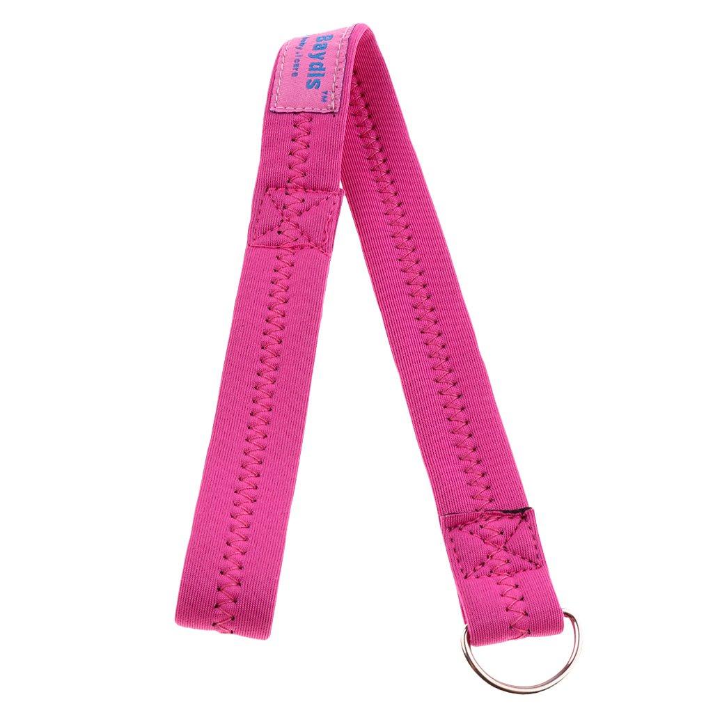 Prettyia Pram Pushchair Stroller BUGGY TUG Wrist Strap Safety Belt Walking Running Baby - Pink, as described